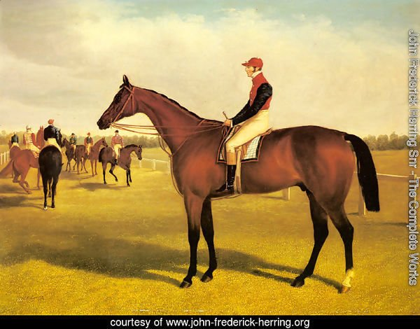 Don John, The Winner of the 1838 St. Leger with William Scott Up