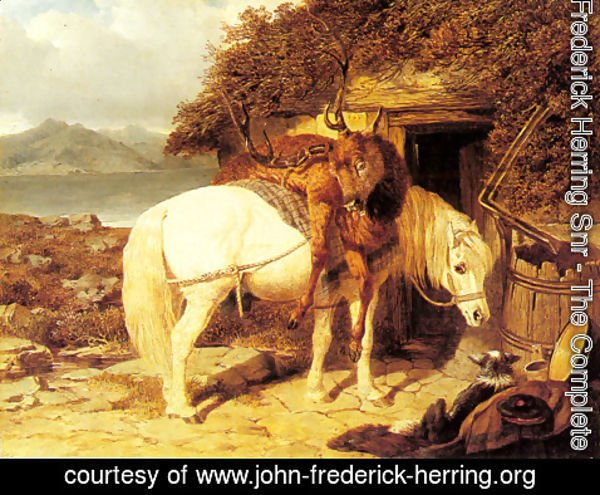 John Frederick Herring Snr - The End of the Day