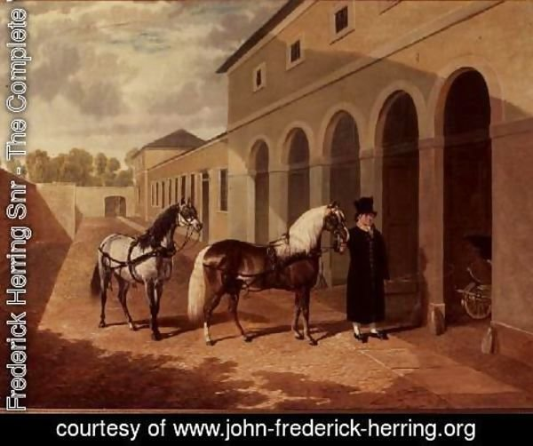 John Frederick Herring Snr - The Duchess's Ponies