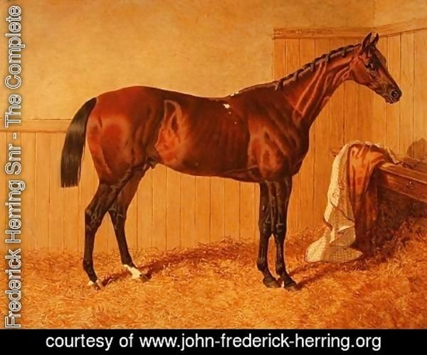 John Frederick Herring Snr - 'Priam', Winner of the Derby in 1830