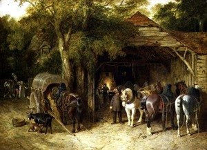 The Blacksmiths, 1842