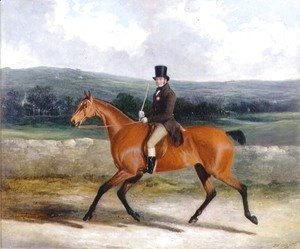 John Frederick Herring Snr - William Ward on Horseback, 1839