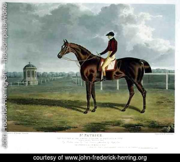 'St. Patrick', the Winner of the Great St. Leger at Doncaster, 1820
