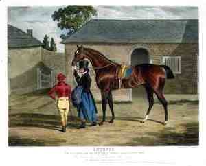 John Frederick Herring Snr - 'Antonio', the Winner of the Great St. Leger at Doncaster, 1819