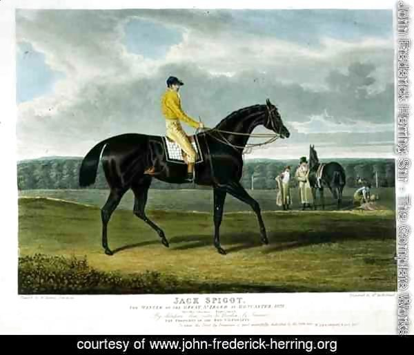 'Jack Spigot', the Winner of the Great St. Leger at Doncaster, 1821