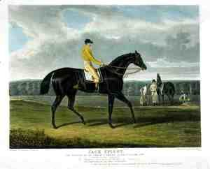 John Frederick Herring Snr - 'Jack Spigot', the Winner of the Great St. Leger at Doncaster, 1821