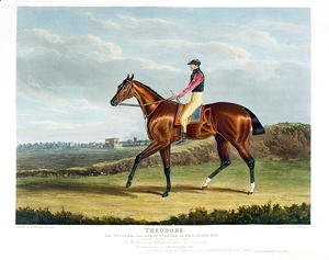 John Frederick Herring Snr - 'Theodore', the Winner of the Great St. Leger at Doncaster, 1822