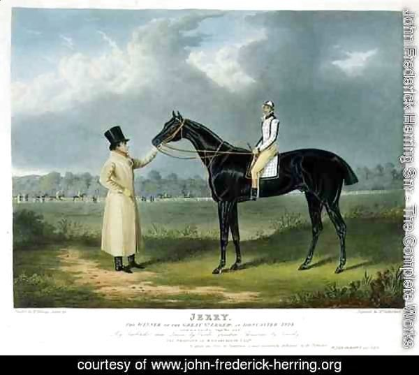 'Jerry', the Winner of the Great St. Leger at Doncaster, 1824