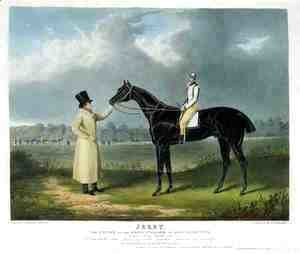 John Frederick Herring Snr - 'Jerry', the Winner of the Great St. Leger at Doncaster, 1824