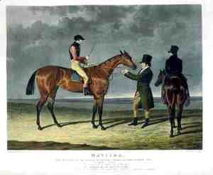 John Frederick Herring Snr - 'Matilda', the Winner of the Great St. Leger Stakes at Doncaster, 1827