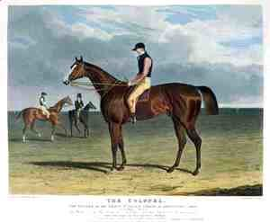 John Frederick Herring Snr - 'The Colonel', the Winner of the Great St. Leger Stakes at Doncaster, 1828