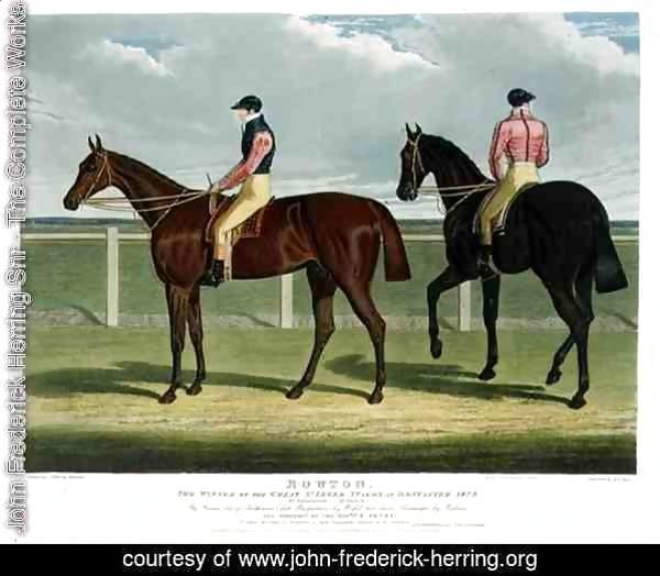 'Rowton', the Winner of the Great St. Leger Stakes at Doncaster, 1829
