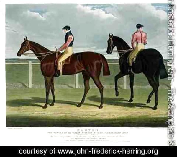 John Frederick Herring Snr - 'Rowton', the Winner of the Great St. Leger Stakes at Doncaster, 1829