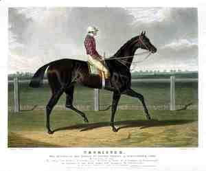 'Chorister', the Winner of the Great St. Leger Stakes at Doncaster, 1831