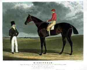 'Birmingham', the Winner of the Great St. Leger Stakes at Doncaster, 1830