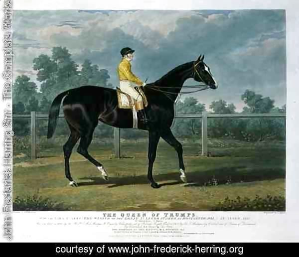 'Queen of Trumps', Won the Oaks Stakes (the Winner of the Great St. Leger Stakes at Doncaster, 1835) at Epsom, 1835