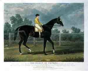 John Frederick Herring Snr - 'Queen of Trumps', Won the Oaks Stakes (the Winner of the Great St. Leger Stakes at Doncaster, 1835) at Epsom, 1835