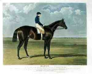 John Frederick Herring Snr - 'Mango', the Winner of the Great St. Leger Stakes at Doncaster, 1837