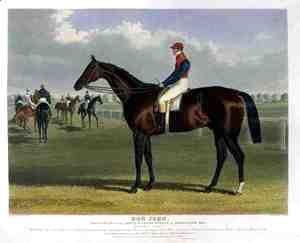 'Don John', the Winner of the Great St. Leger Stakes at Doncaster, 1838