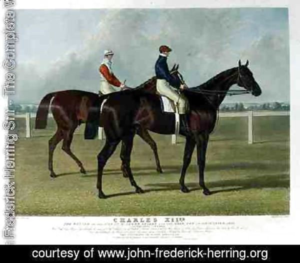 John Frederick Herring Snr - 'Charles XII', the Winner of the Great St. Leger Stakes at Doncaster, 1839
