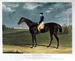 John Frederick Herring Snr - 'Cadland', the Winner of the Derby Stakes at Epsom, 1828