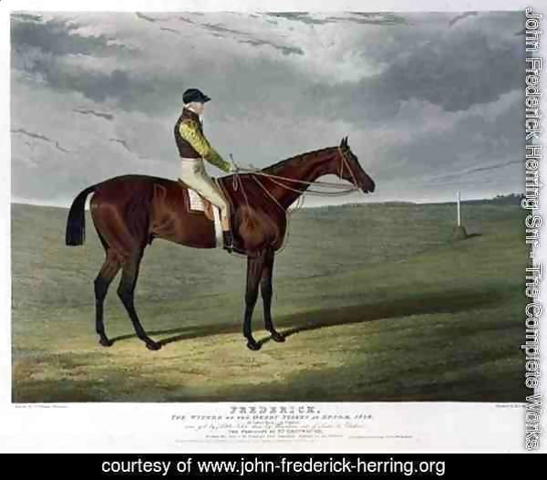 'Frederick', the Winner of the Derby Stakes at Epsom, 1829