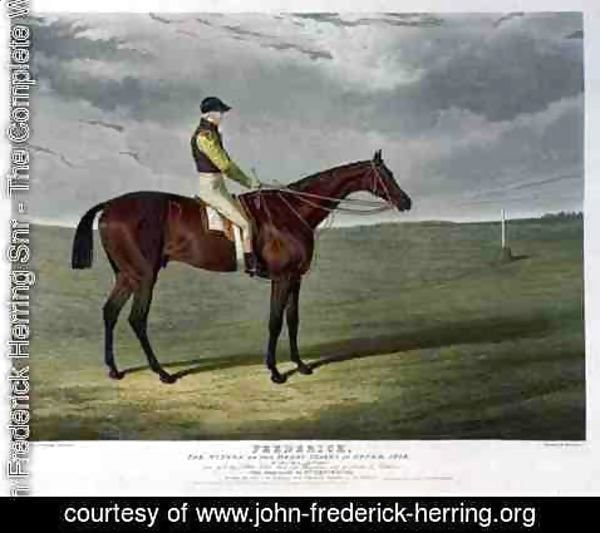 John Frederick Herring Snr - 'Frederick', the Winner of the Derby Stakes at Epsom, 1829