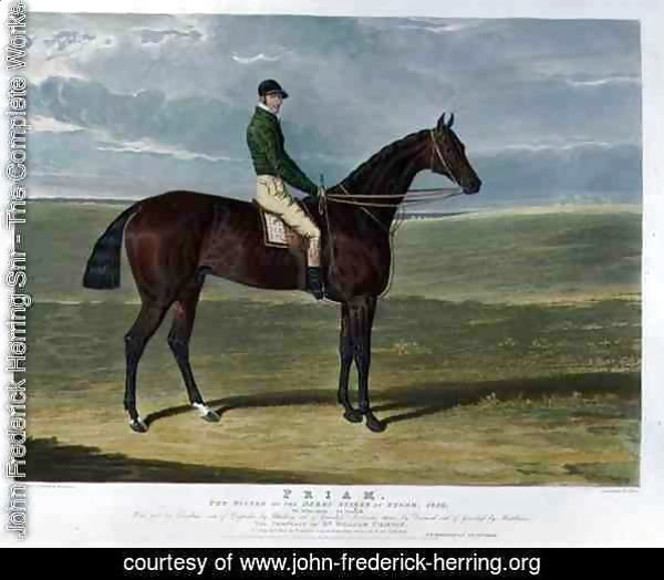 'Priam', the Winner of the Derby Stakes at Epsom, 1830
