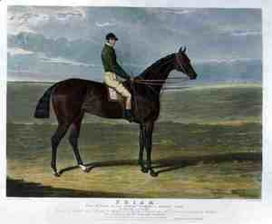 John Frederick Herring Snr - 'Priam', the Winner of the Derby Stakes at Epsom, 1830