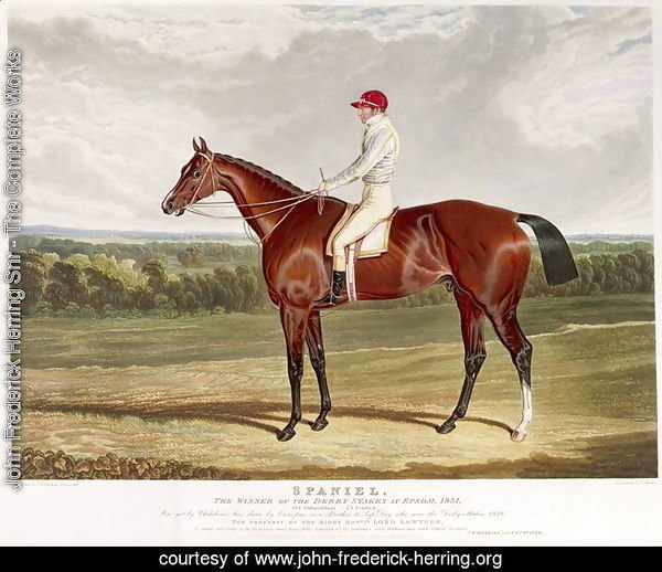 Spaniel', the Winner of the Derby Stakes at Epsom, 1831