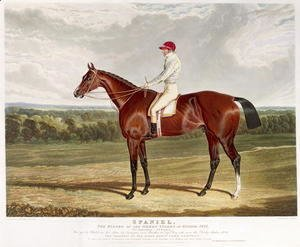 John Frederick Herring Snr - Spaniel', the Winner of the Derby Stakes at Epsom, 1831