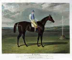 'St. Giles', the Winner of the Derby Stakes at Epsom, 1832