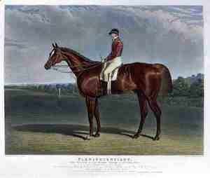 John Frederick Herring Snr - 'Plenipotentiary', the Winner of the Derby Stakes at Epsom, 1834