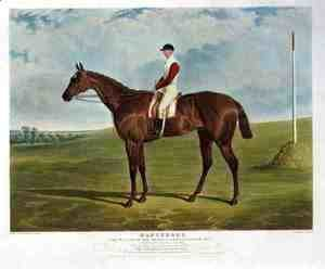 John Frederick Herring Snr - 'Dangerous', the Winner of the Derby Stakes at Epsom, 1833
