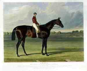 John Frederick Herring Snr - 'Amato', the Winner of the Derby Stakes at Epsom, 1838