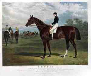'Mundig', the Winner of the Derby Stakes at Epsom, 1835