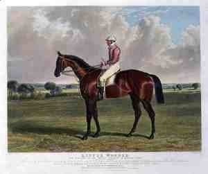 'Little Wonder', the Winner of the Derby Stakes at Epsom, 1840