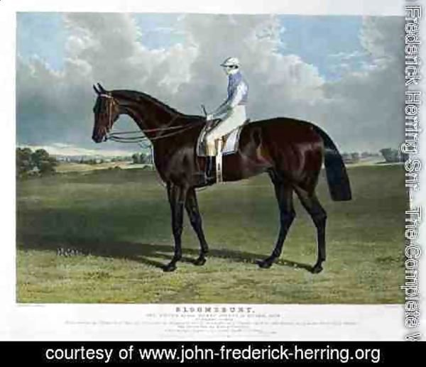 John Frederick Herring Snr - 'Bloomsbury', the Winner of the Derby Stakes at Epsom, 1839