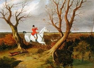 John Frederick Herring Snr - The Suffolk Hunt - Gone Away