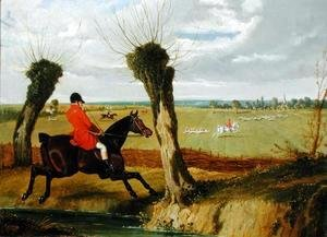John Frederick Herring Snr - The Suffolk Hunt - Full Cry