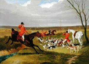 John Frederick Herring Snr - The Suffolk Hunt - The Death