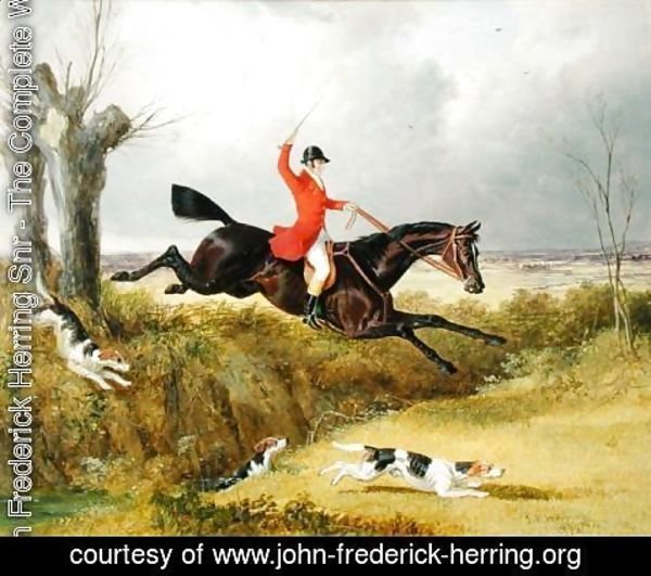 John Frederick Herring Snr - Clearing a Ditch, 1839