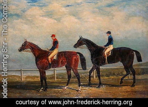 John Frederick Herring Snr - The Ascot Cup, 1829