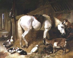 John Frederick Herring Snr - The Midday Meal, 1850