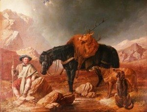 John Frederick Herring Snr - Return from the Hunt