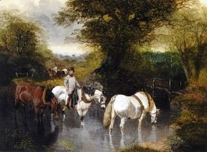 John Frederick Herring Snr - At the Ford
