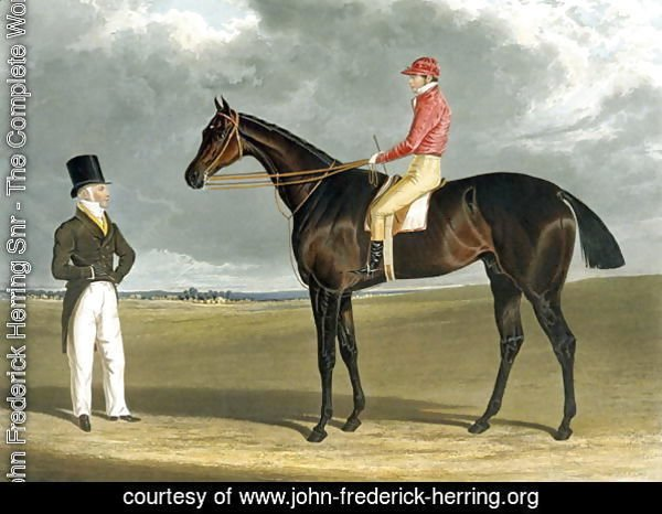 Birmingham, Winner of The St Leger, 1830, engraved by R.G. Reeve, 1831