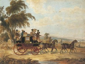 Brighton London Coach 1831
