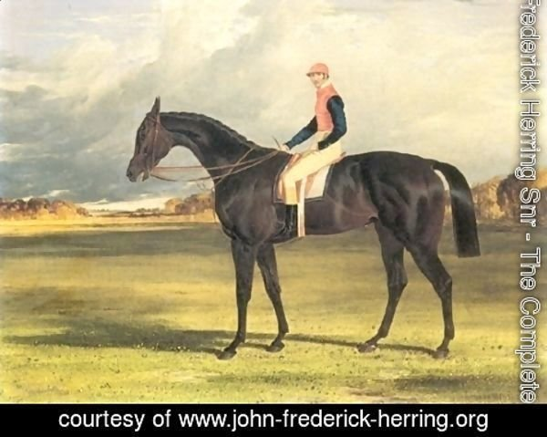 John Frederick Herring Snr - Filly Industry with Jockey Up 1838