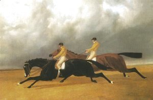 John Frederick Herring Snr - Finish Of Doncaster St Leger 1840